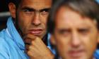 Carlos Tevez, Roberto Mancini