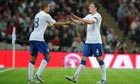 Jack Rodwell, left, and Phil Jones have made the step up from the England Under-21s to the seniors