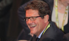 Fabio Capello at the Euro 2012 draw