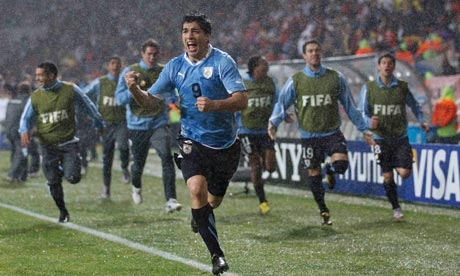 Uruguay's Luis Suarez has been defended by his compatriots
