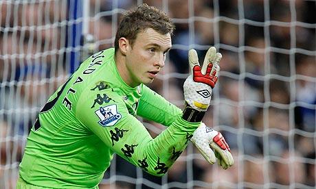 Fulham goalkeeper David Stockdale