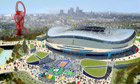 Tottenham's vision for the Olympic site in Stratford