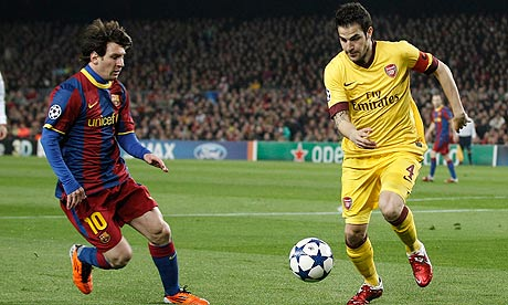 Barcelona v Arsenal: Leo Messi