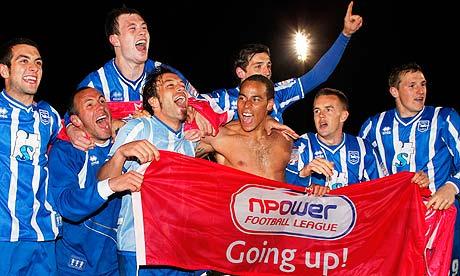 Brighton promoted