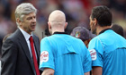 Arsene Wenger, Arsenal v Liverpool