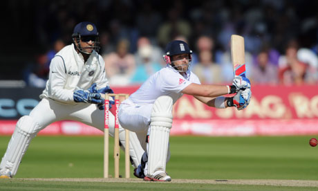 Matt Prior stuck with his attacking instincts on the way to an important century for England