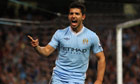 Sergio Agüero's debut double for Manchester City sends out warning