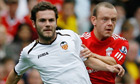Juan Mata on verge on €27m move to Chelsea from Valencia