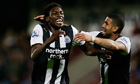 Alan Pardew hails Newcastle youngsters Sammy Ameobi and Haris Vuckic