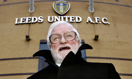 Leeds United chairman Ken Bates failed to come up with any original insults in his programme notes
