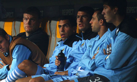 Carlos Tevez claims he did not refuse to come off the bench for Manchester City at Bayern Munich