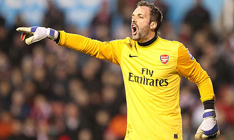 West Ham United have signed the Arsenal goalkeeper Manuel Almunia on an ...