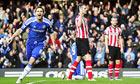 Chelsea midfielder Frank Lampard celebrates