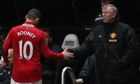 Sir Alex Ferguson refused to discuss Wayne Rooney