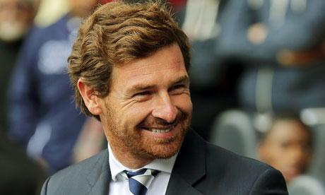 Andre Villas-Boas Tottenham Hotspur