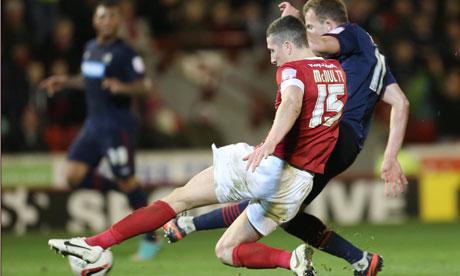 Jordan Rhodes, Barnsley v Blackburn