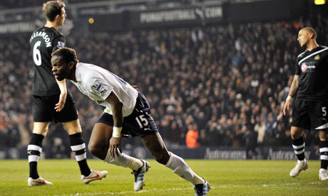 Louis Saha, Tottenham v Newcastle