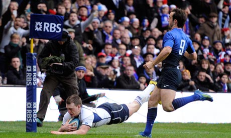 Six Nations 2012: Scotland v France