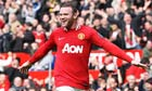 Wayne Rooney two goals for Manchester United