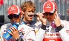 McLaren's F1 drivers Lewis Hamilton and Jenson Button