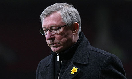 Sir Alex Ferguson, the Manchester United manager