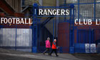 Rangers, currently in administration