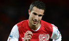 Robin van Persie, Arsenal v Wigan Athletic