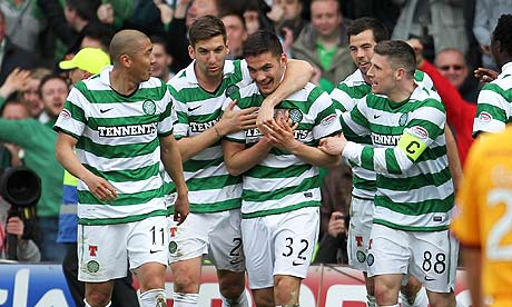 Tony Watt came off the bench to score twice in his first senior appearance
