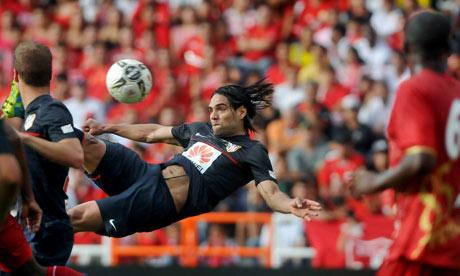 Atlético Madrid striker Radamel Falcao