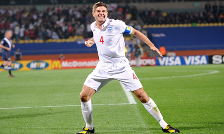 Steven Gerrard says he has no intention of stepping down from England