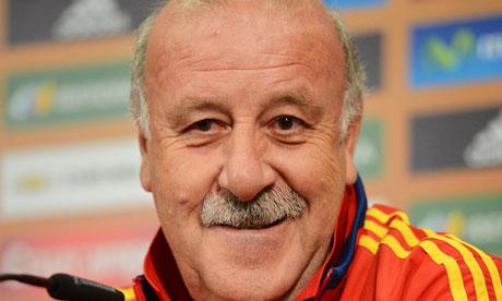 Vicente del Bosque, Spain press conference