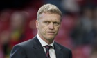 Manchester United's manager David Moyes saw his side conce