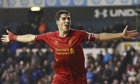 Luis Suárez captained the Liverpool side in the 5-0 defeat of Tottenham Hotspur