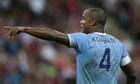 Manchester City's Manuel Pellegrini: return of Vincent Kompany is boost