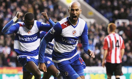 Jimmy Kebe, Reading v Sunderland