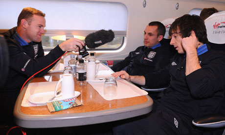 Rooney interviews England