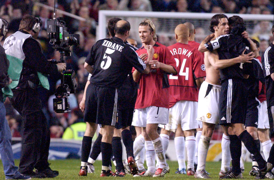 Man United 4 – 3 Real Madrid (ngày 23/04/2003 – Champions League)