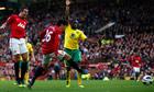 Shinji Kagawa, Manchester United v Norwich