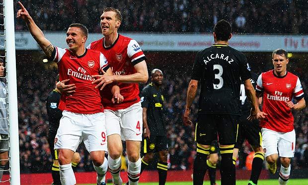 Arsenal v Wigan Athletic
