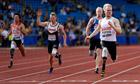 Jonnie Peacock, Great Britain's gold medal winning Paralympian