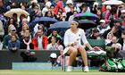 Marion Bartoli at Wimbledon