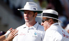 Test umpire Simon Taufel