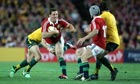 George North playing in the third Test in Australia