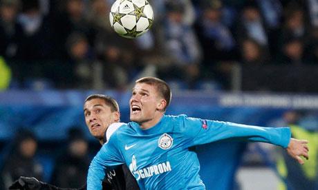 Former Zenit St Petersburg midfielder Igor Denisov joined Anzhi in the summer