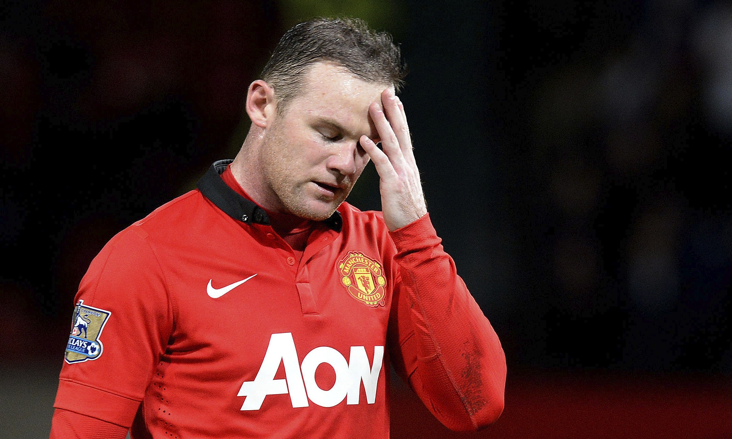 Wayne Rooney 2014 Wayne Rooney injury fears grow as Manchester United prepare for