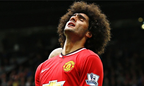 Marouane Fellaini could be ready for Manchester United return