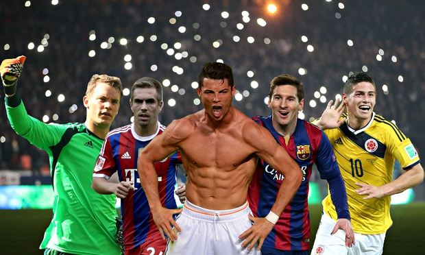 The world s top 100 footballers which players should be on our list