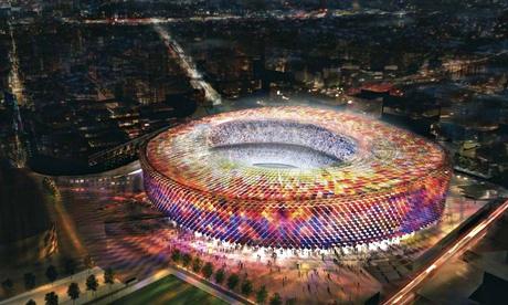 Football stadium quiz: grand designs