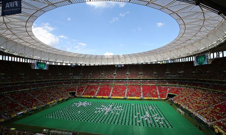 Brasilia's Estádio Nacional is believed to have been put on standby for the World Cup