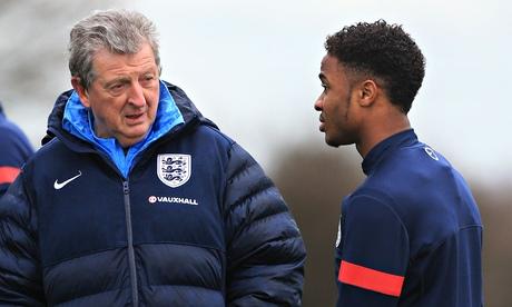 Raheem-Sterling-Roy-Hodgson-England-Training-Centre-Enfield